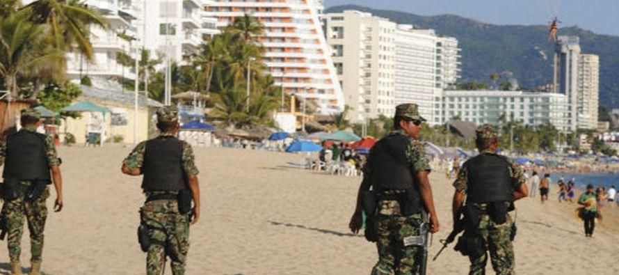 """""""La situación de seguridad en muchas partes de México está empeorando..."""