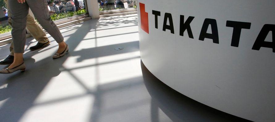 La llamada a revisión es consecuencia de la decisión de Takata en diciembre de 2017...