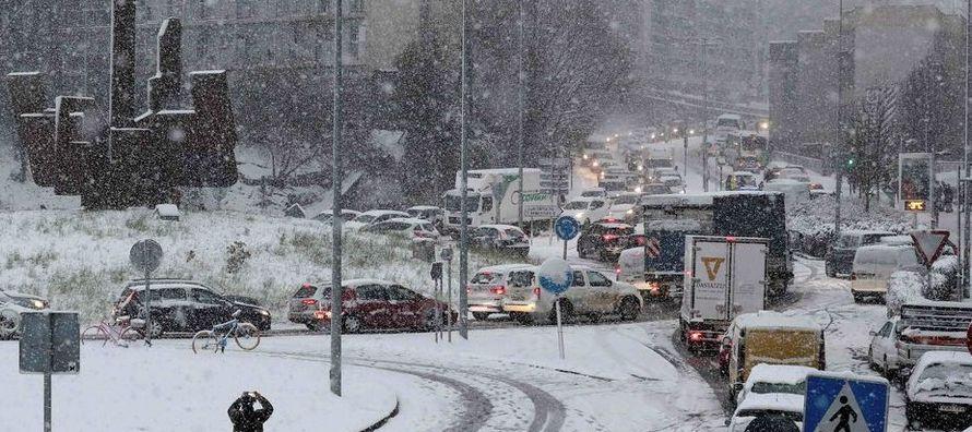 """""""El frío, incluso en lugares donde las temperaturas no están en su nivel..."""
