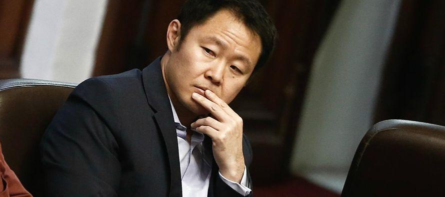 """Kenji Fujimori remarcó que """"no dudo de mi hermana, pero el partido ya no tiene..."""