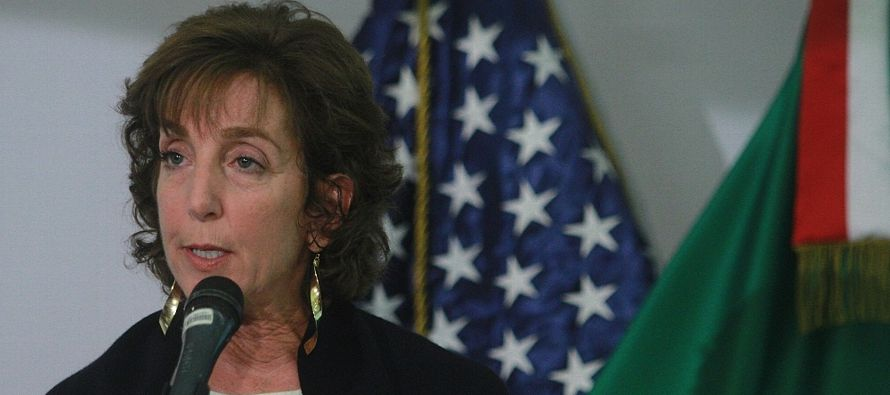 """Jacobson dijo que deja el cargo """"sabiendo que la relación México- Estados Unidos..."""