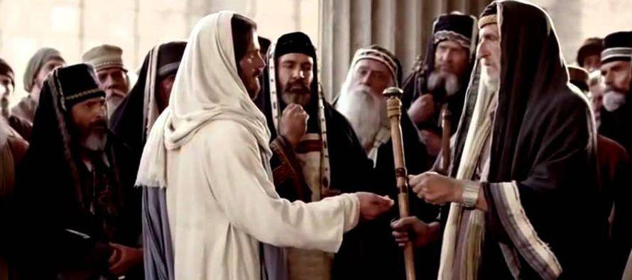 Los sumos sacerdotes y los fariseos, al oír sus parábolas, comprendieron que estaba...