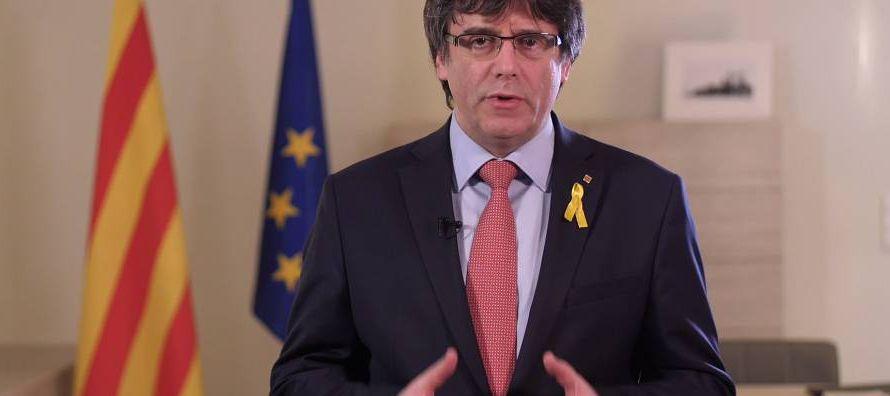 El abogado británico Ben Emerson, que representa al expresidente regional catalán...