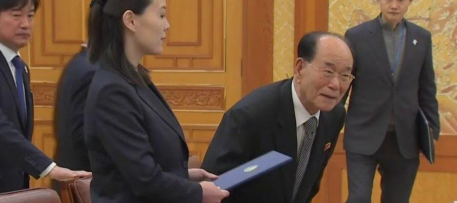 Otra delegación norcoreana de alto nivel visitó la semana pasada Corea del Sur con...