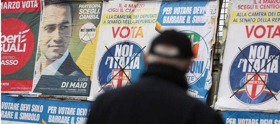 Desde sus orígenes, la legislación electoral de Italia apostó por favorecer la...