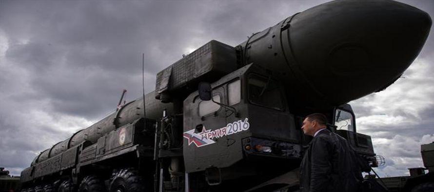 Una nueva carrera armamentística ha sido declarada», se apresuró a difundir en...
