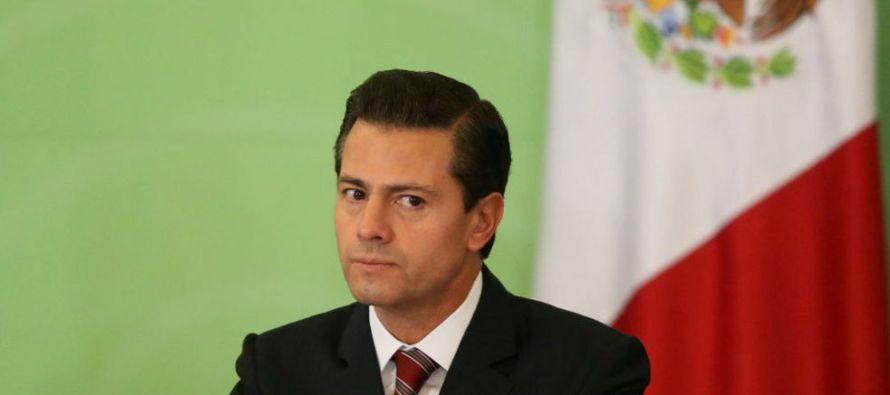 """Peña Nieto expresó a Bachelet su agradecimiento """"por los cuatro años de..."""