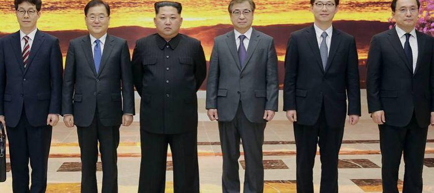 """El consejero de seguridad nacional regresó cargado de novedades. """"La parte norcoreana..."""