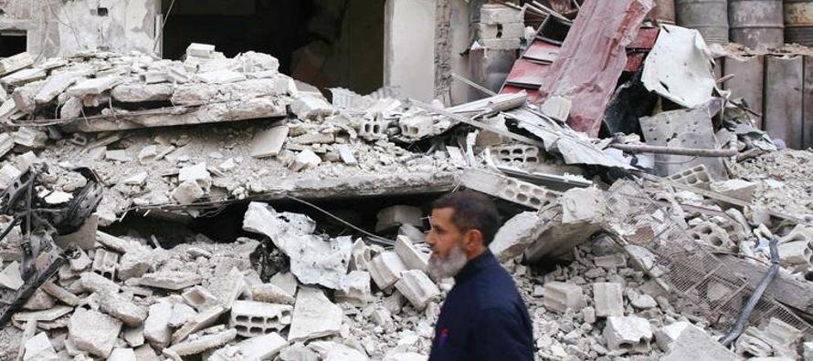 """Durante este periodo, """"las víctimas del conflicto sirio han sufrido mucho, ya que la..."""
