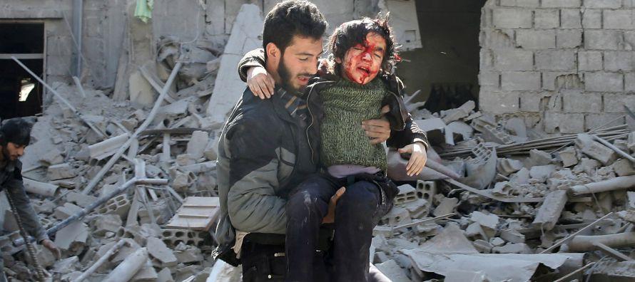 A Washington, de acabar con la vida de 150 personas refugiadas en una escuela de Raqqa - recordando...