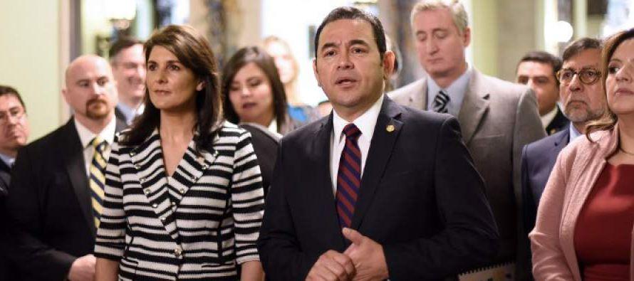 El domingo pasado, el presidente Morales señaló ante la conferencia anual del...