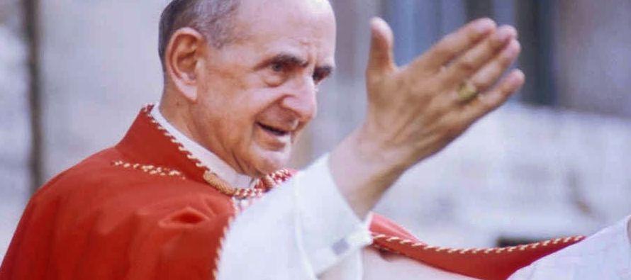 El primer milagro atribuido a la intercesión de Pablo VI, y que le permitió ser...