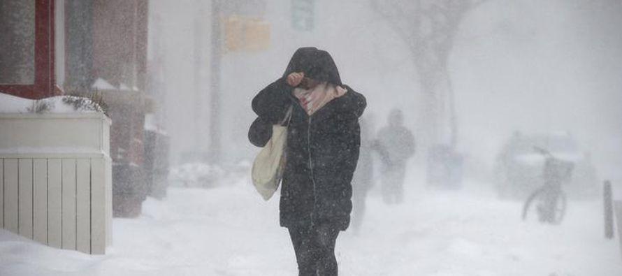Los pronósticos señalan que caerían entre 15 y 30 centímetros de nieve...