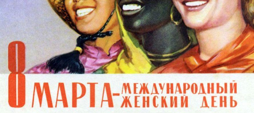 """""""En cada rincón de Rusia hoy reina un ambiente primaveral y soleado, y ello gracias a..."""