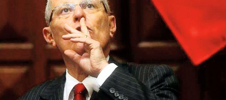 """""""Yo, como presidente del Perú, reitero mi compromiso total con la gobernabilidad y la..."""