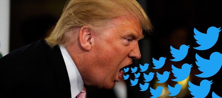 Trump respondió en documentos judiciales que su uso de Twitter es personal, no una...