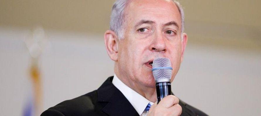 """En declaraciones en la sede de la ONU, Netanyahu defendió la necesidad de """"arreglar..."""