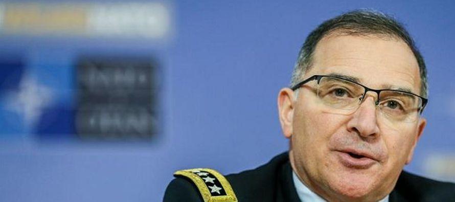 """Con este objetivo, apuntó el general, el Kremlin está empleando """"diferentes..."""