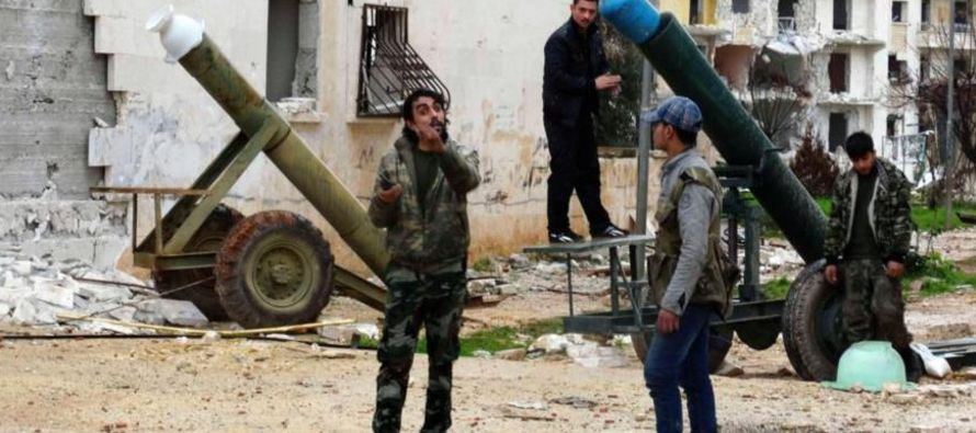 Esta situación dejó la zona bajo control efectivo de Damasco, ya que la franja...