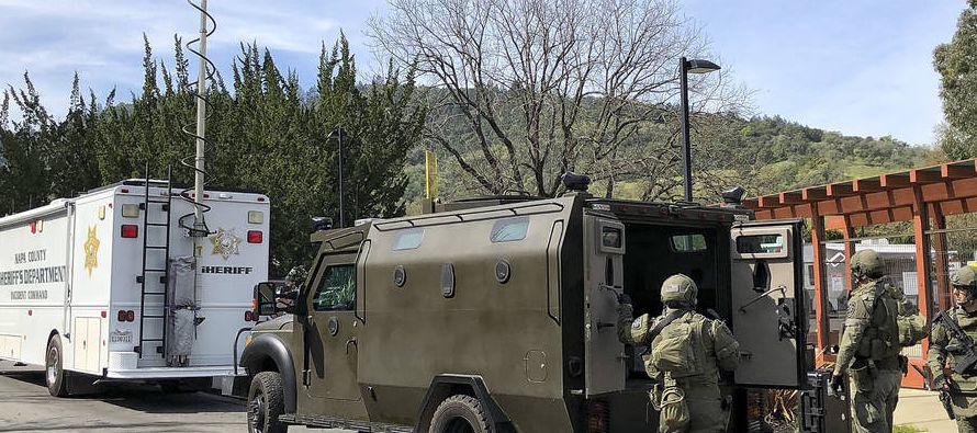 """""""Poco después de las seis de la tarde, efectivos de las fuerzas de seguridad entraron..."""