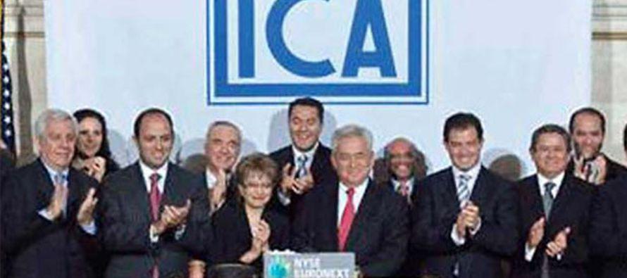 A mediados de 2015, las acciones de ICA habían caído más de un 50 por ciento...