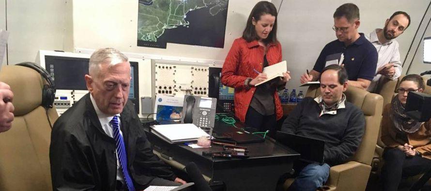El jefe del Pentágono explicó que había leído atentamente la...