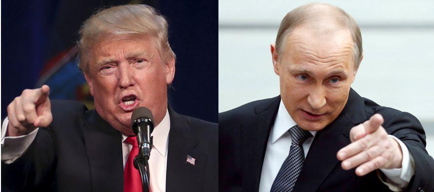 De hecho el nombre de la entrevista, 'Un enfrentamiento contra Putin', intenta proyectar...