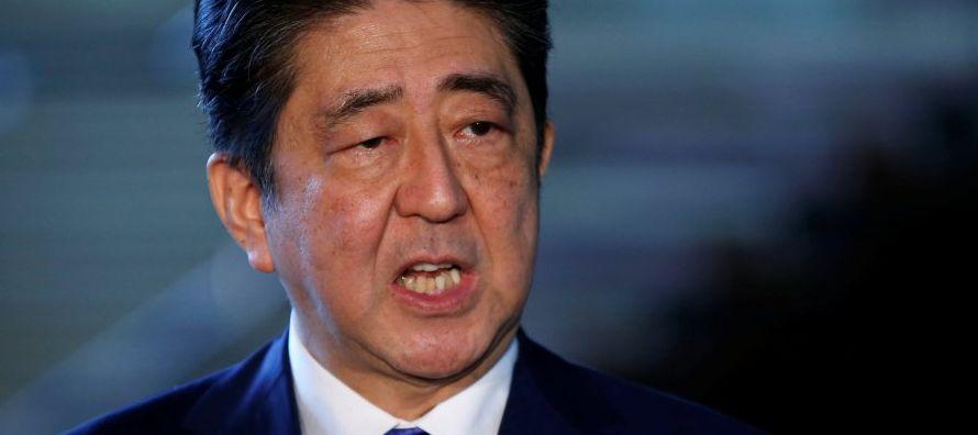 El líder conservador nipón se refirió así a la voluntad expresada por...