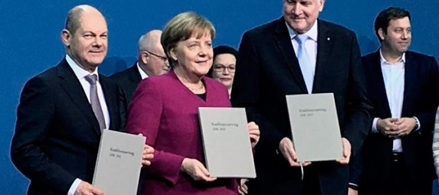 """""""El SPD ha tenido que luchar mucho consigo mismo hasta dar el sí a otra gran..."""