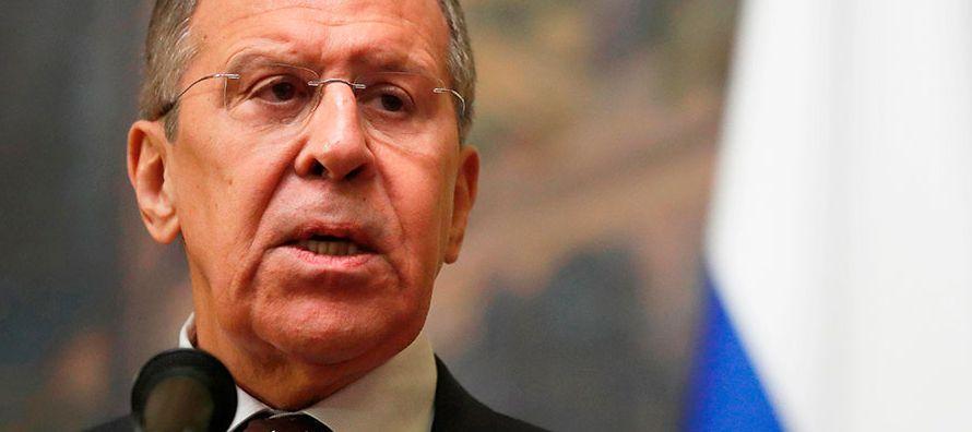 """Al mismo tiempo, el portavoz de la Presidencia rusa afirmó que """"siempre queda la..."""