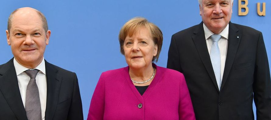 La Unión Cristianodemócrata (CDU) de Merkel y su ala bávara de la Unión...