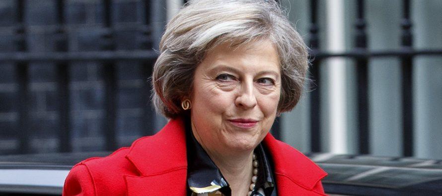 En su discurso, la primera ministra reiteró hoy que su país no tiene ningún...