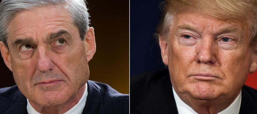Trump atacó al equipo encabezado por Mueller un día después de que su abogado...