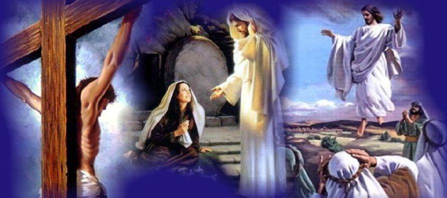 """Según el evangelio de Nicodemo: """"Entonces los judíos propusieron: Mandemos a..."""