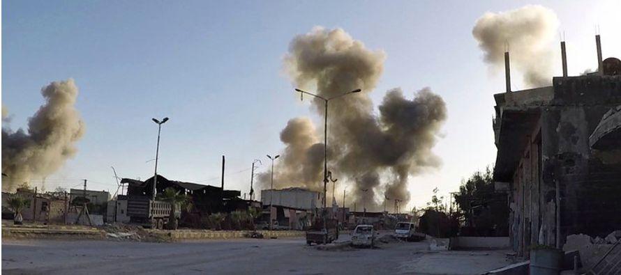 Los hechos en la localidad de Douma ocurrieron la noche del sábado como parte de la...