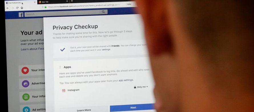 Facebook comenzó a alertar el martes a ciertos usuarios que su información...