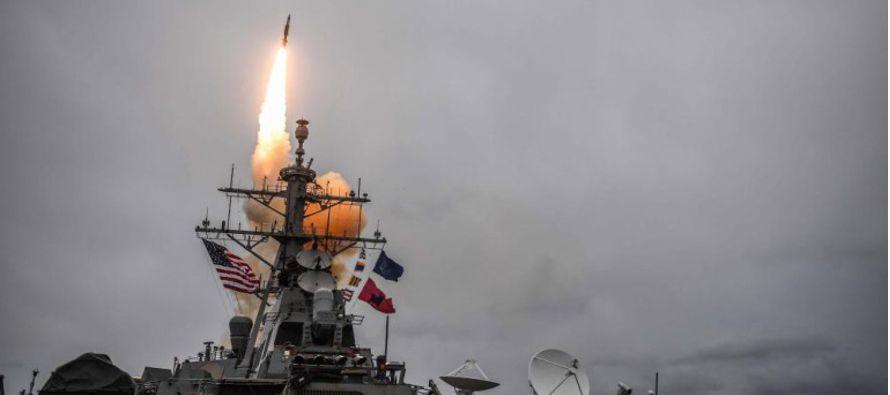 Washington y sus aliados europeos perpetraron tres ataques en los que destruyeron instalaciones...