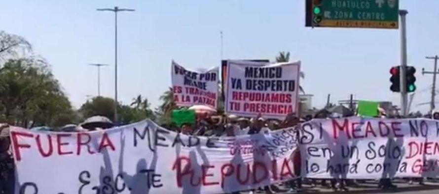 En un principio, estaba planeado que Meade, que contiende por el PRI en alianza con el Partido...