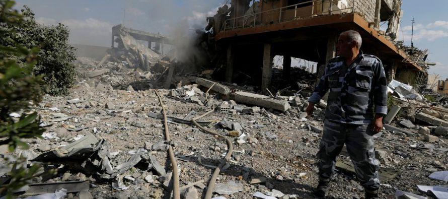 Rusia y Siria han negado que armas químicas hayan sido usadas y afirmaron que sus propios...