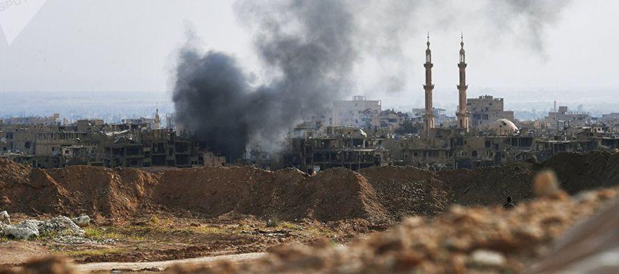 En resumidas cuentas, el ataque no se cobró vidas de militares sirios y tampoco de civiles...