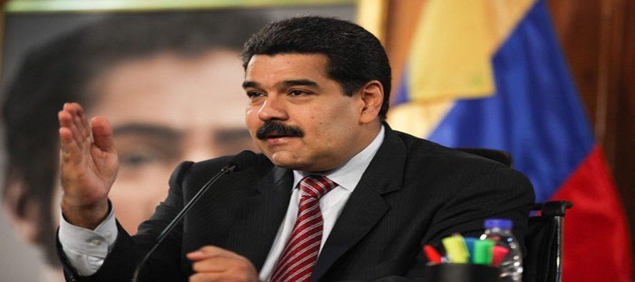 El presidente venezolano Nicolás Maduro arremetió el domingo contra la Cumbre de las...