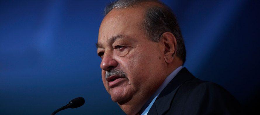 El magnate mexicano Carlos Slim afirmó hoy que el nuevo aeropuerto que se construye para...