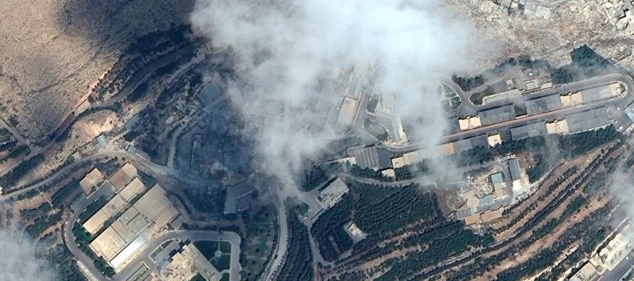 El ataque de la madrugada del 14 de abril sobre tres objetivos en territorio sirio provocó...