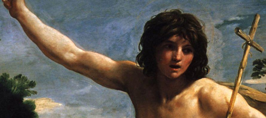 """El Precursor les decía: """"Convertíos, pues el Reino de los Cielos está..."""