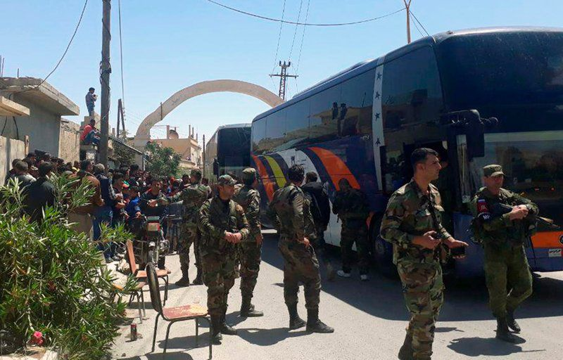 La visita al lugar, confirmada por la Organización para la Prohibición de Armas...