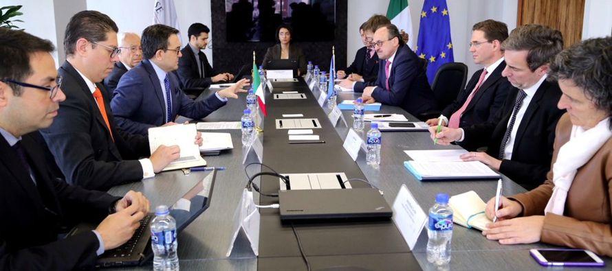 México aseguró hoy que el nuevo pacto con la Unión Europea (UE) que moderniza...
