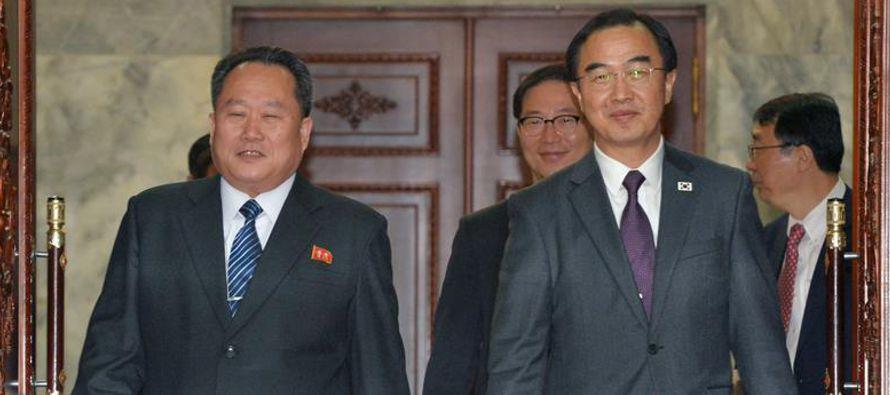 Esta cumbre será la primera entre mandatarios coreanos en once años y la tercera de...