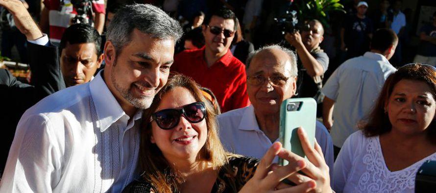 Abdo Benítez asumirá el poder el 15 de agosto para un mandato de cinco años en...