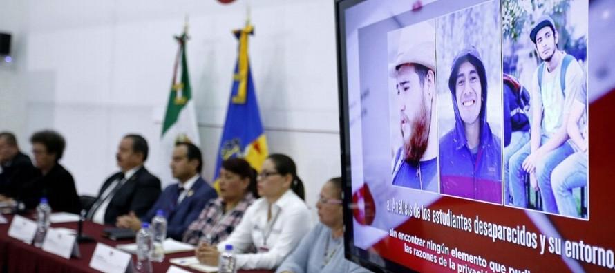 Las autoridades dijeron en una conferencia de prensa la tarde del 23 de abril que los estudiantes...