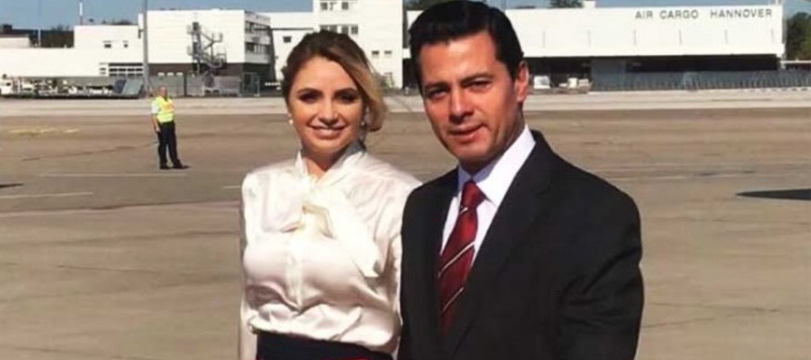 En Madrid, Peña Nieto, que viaja acompañado por su esposa, Angélica Rivera, se...